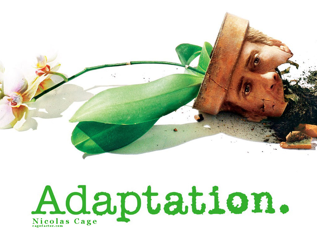 adaptation The notion of meta has never been diddled more mega than in this giddy möbius strip of a movie, a contrivance so whizzy and clever that even when it tangles at the end, murked like swampy southwestern florida itself, the stumble has quotation marks around it.