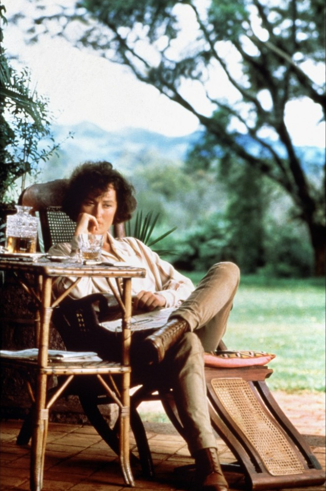 Safari Tapete Out Of Africa : Meryl Streep Out of Africa 1985